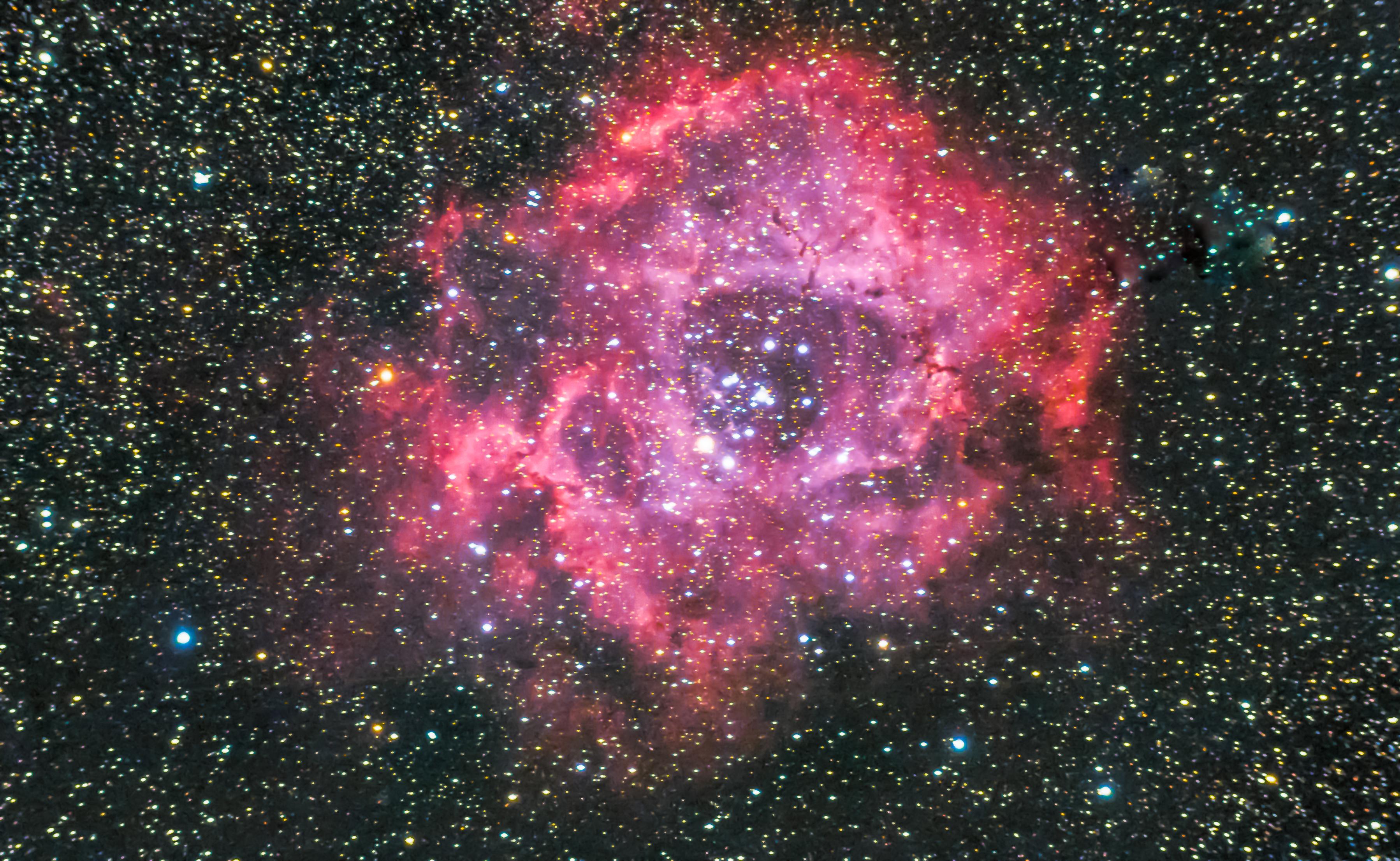 rosette nebula, caldwell 49