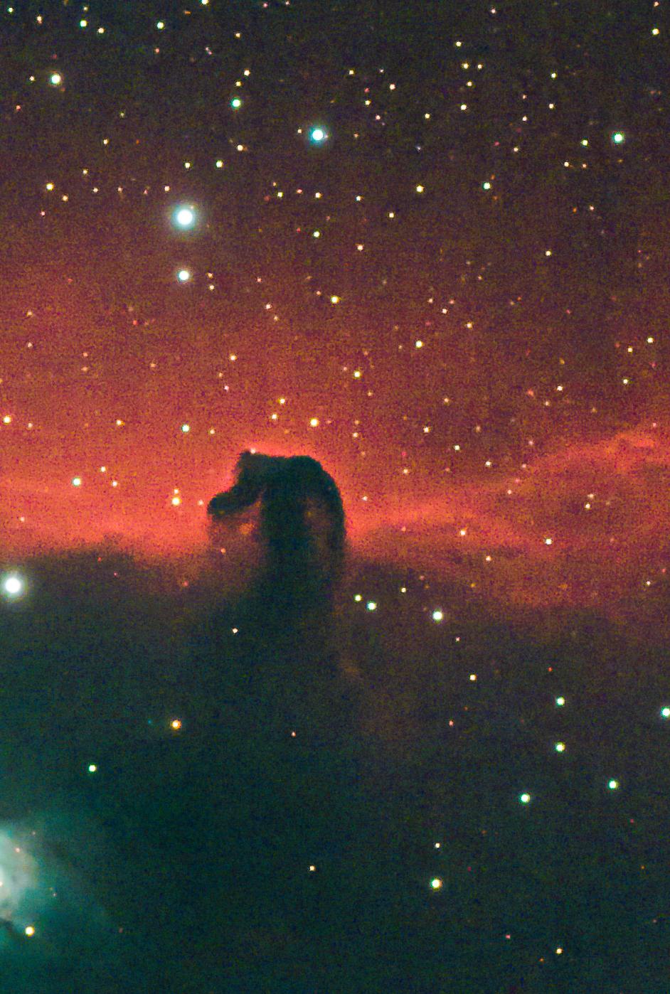 ic434, barnard 33, horsehead, horsehead nebula, orion,