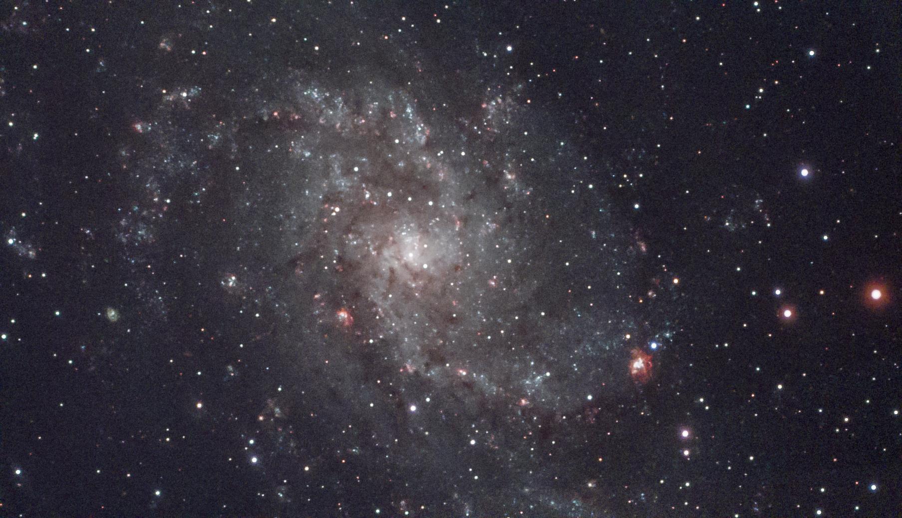 m33, messier 33, triangulum galaxy, triangulum,