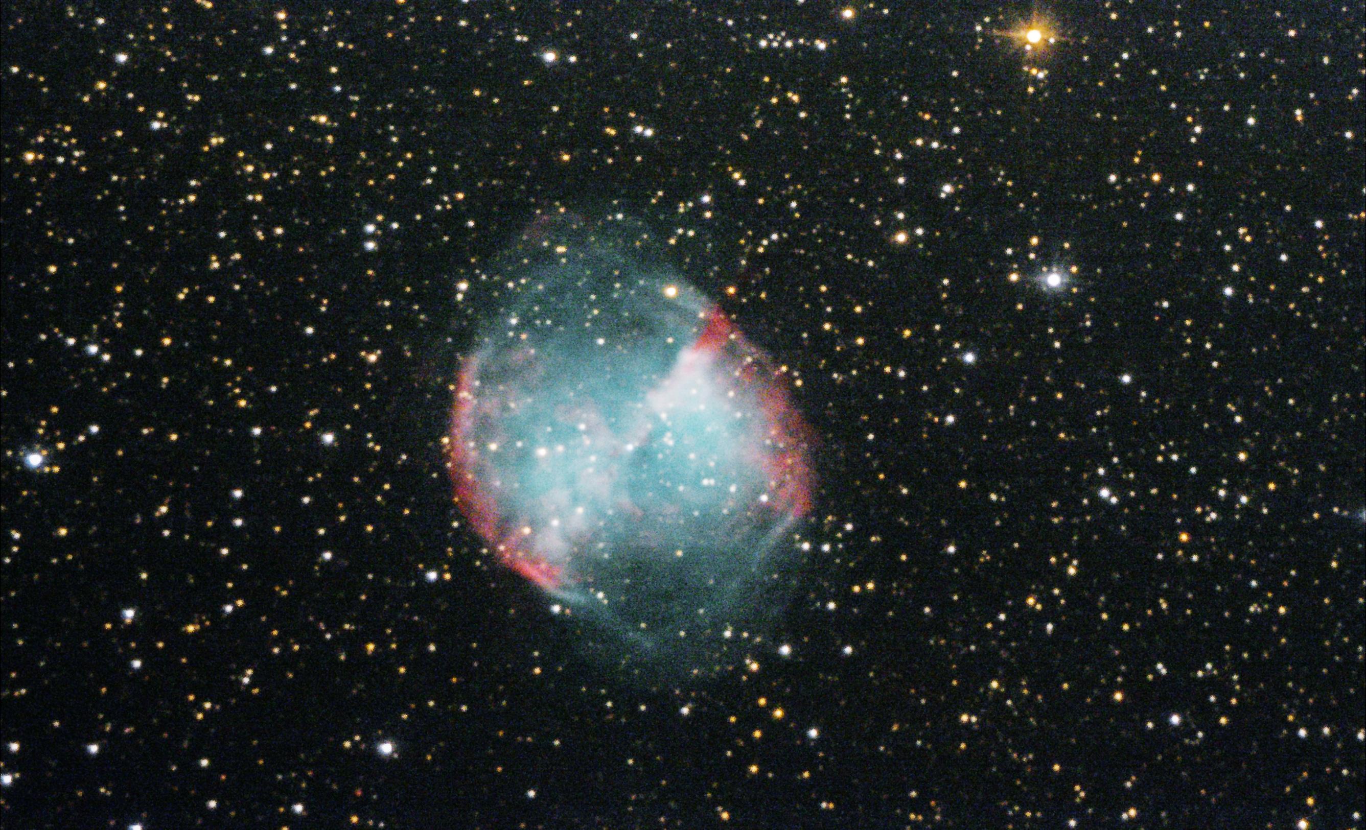 M27, Dumbell Nebula, 200PDS