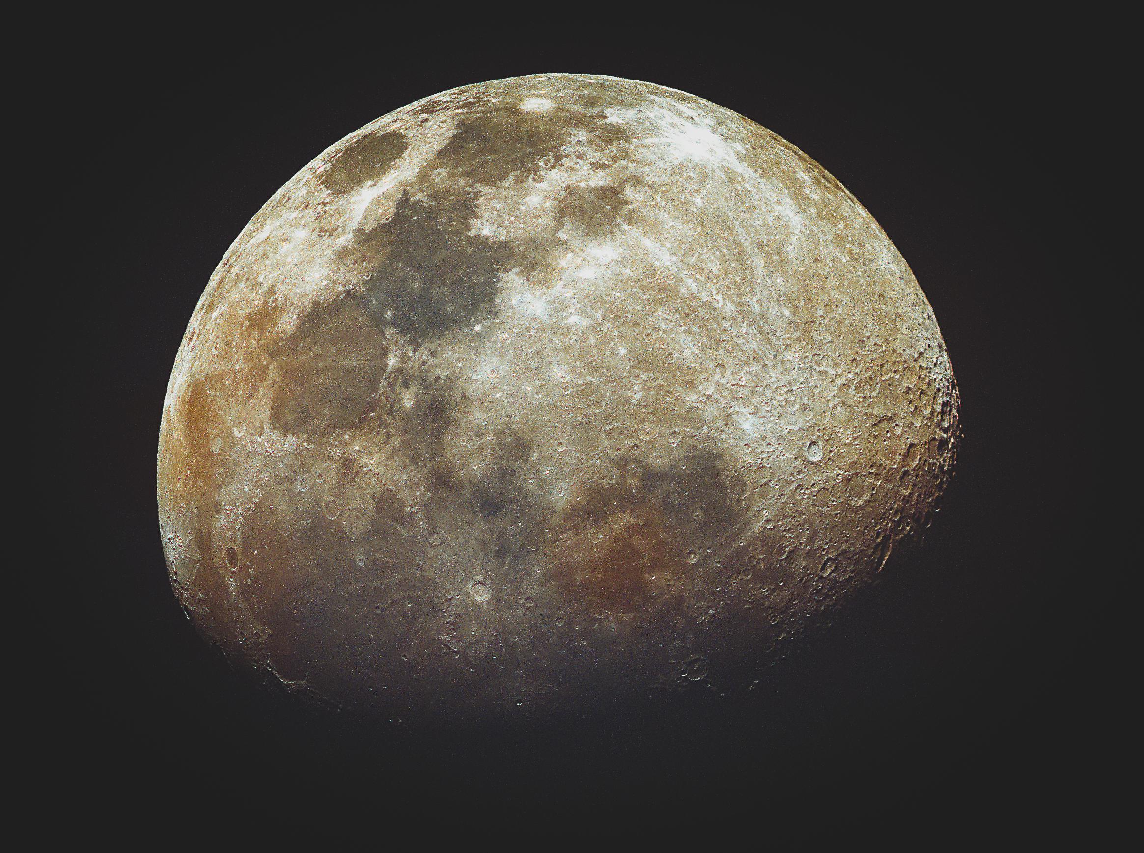 moon, colour moon, mineral moon, lunar,